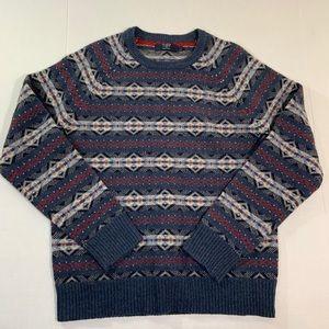 Men's J. Crew Lambswool Sweater Rare L